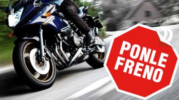 Campaña de Ponle Freno dirigida a motoristas