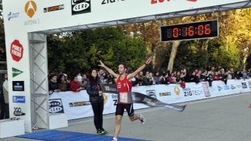 El ganador de los 5 km