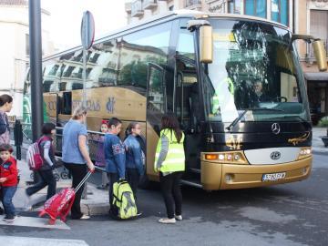 La DGT pone en marcha una campaña de control del transporte escolar
