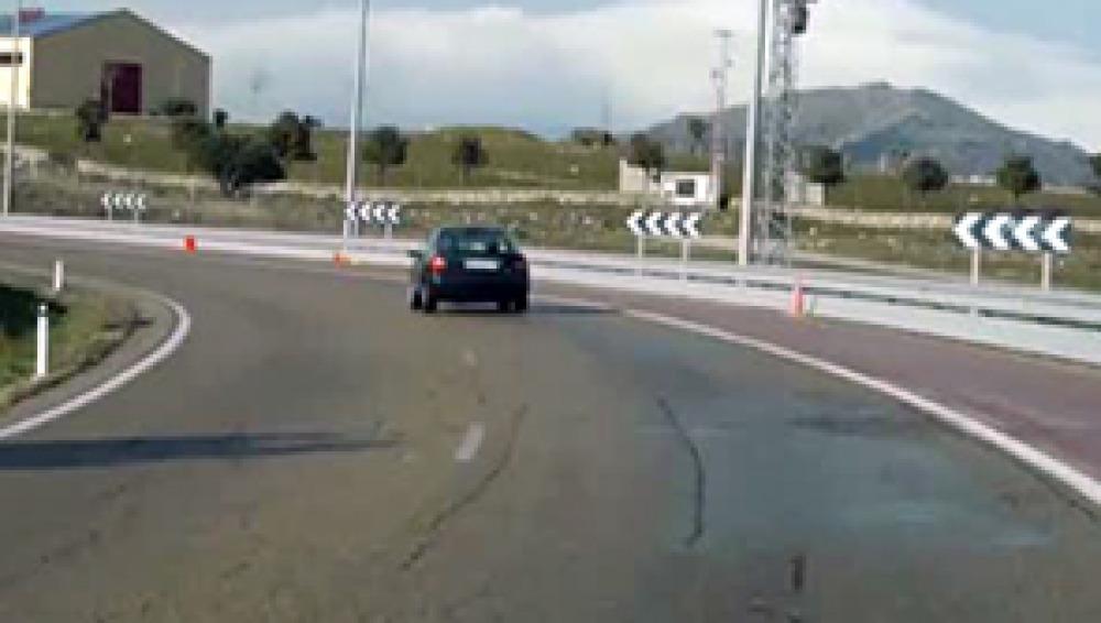 FOTO_La curva será arreglada para evitar más accidentes