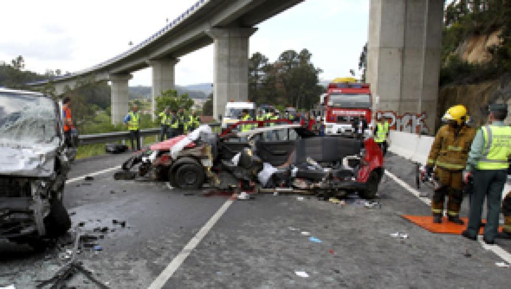 Descienden un 23 por ciento los muertos en la carretera hasta finales de abril