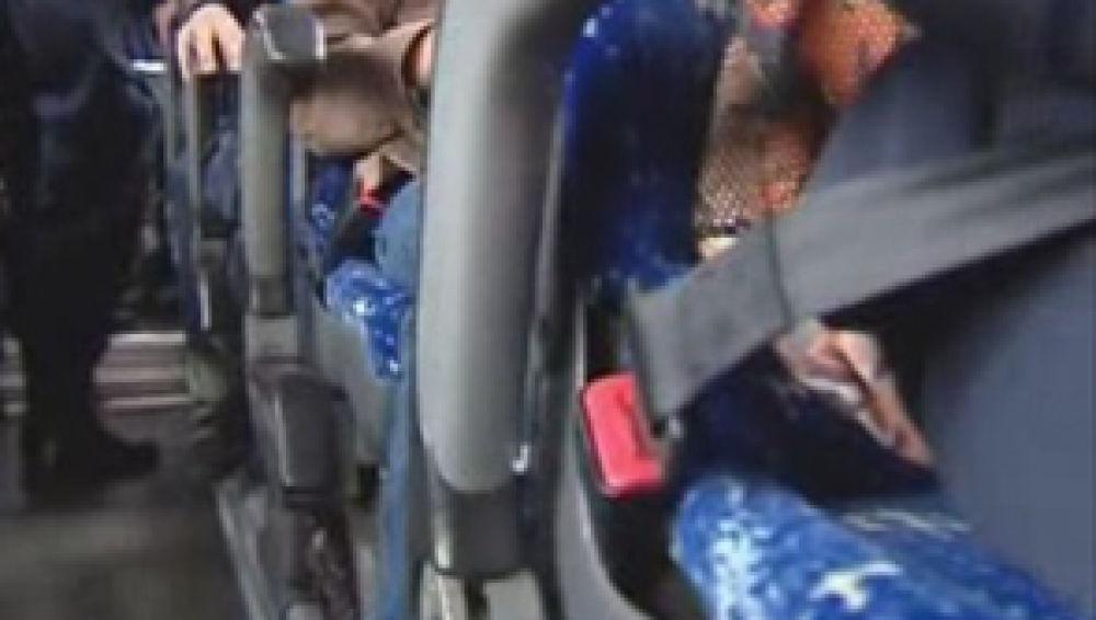 Cinturón de seguridad en los autobuses escolares del País Vasco