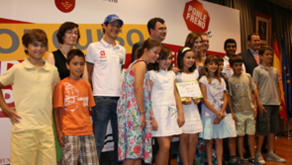 El I Concurso de Seguridad Vial Ponle Freno Junior entrega sus premios