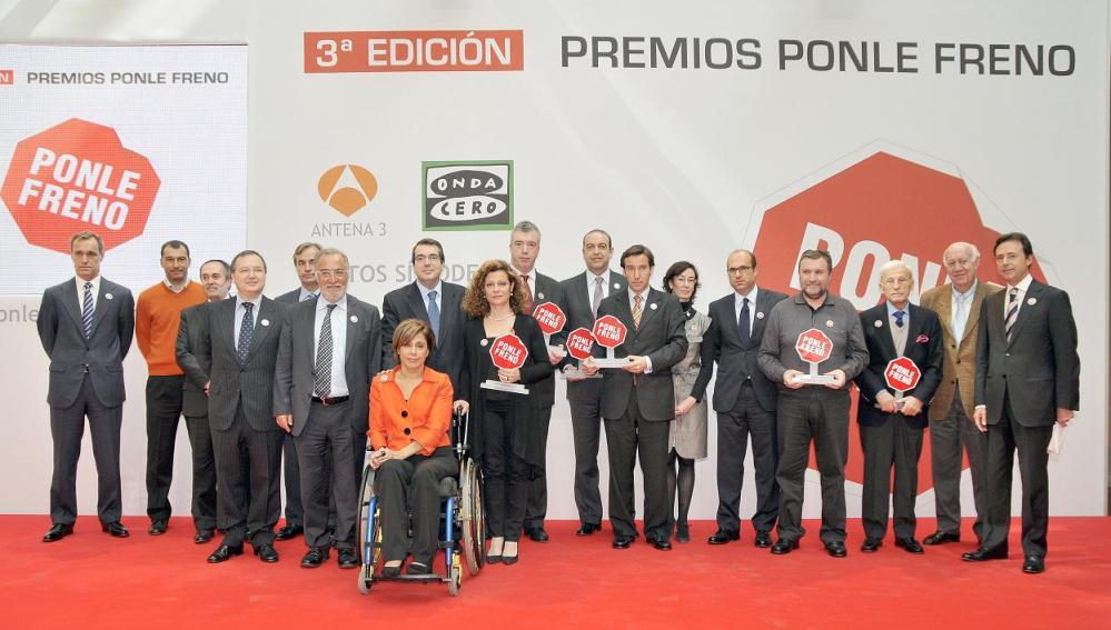 Los galardonados de esta tercera edición de los Premios