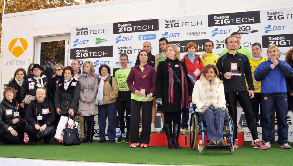 Entrega de premios de la 3ª Carrera Ponle Freno