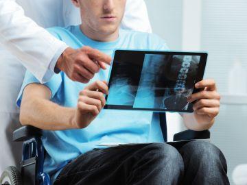 Paciente con esclerosis múltiple.