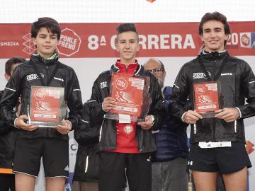 Los ganadores de la categoría junior