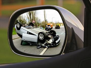 Imagen de un accidente de tráfico