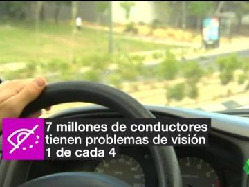 Frame 26.19474 de: Más de 600.000 conductores se ponen al volante en España con una visión inferior a la que marca la ley