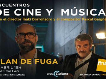 CreaCultura acoge un nuevo 'Encuentro de Cine y Música' con la película 'Plan de fuga'