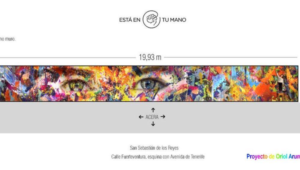 El artista Oriol Arumí gana el concurso de ilustración urbana de CreaCultura para cambiar el mural exterior de Atresmedia