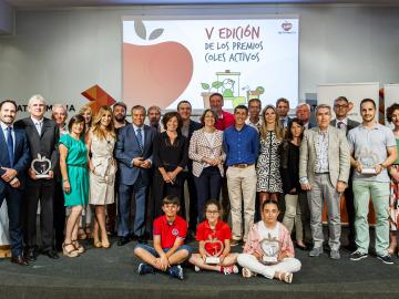 V edición de los Premios 'Coles Activos'