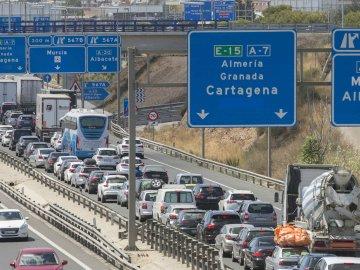 Comienza en las carreteras la operación salida del puente de agosto