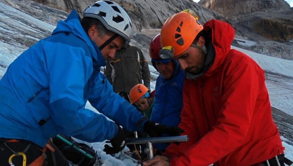 El glaciar Monte Perdido, clave para determinar cambios del clima
