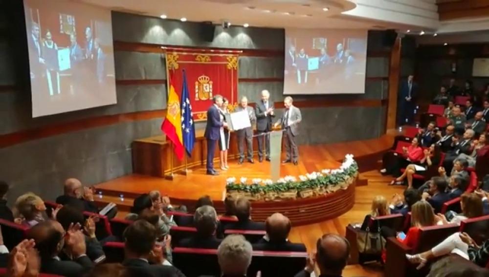"""Premio a la campaña """"Tolerancia cero"""" de Antena 3"""