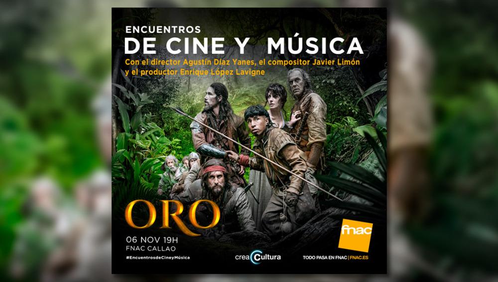 Encuentros de Cine y Música de la película ORO