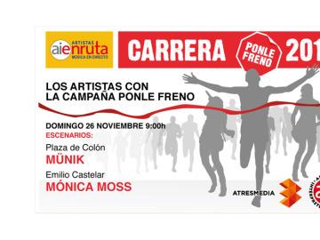 Conciertos de la 9ª Carrera Ponle Freno de Madrid