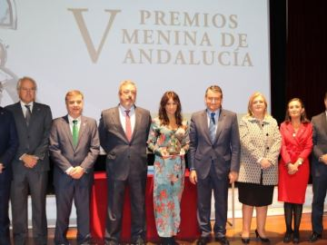 'Tolerancia Cero' recibo el premio Meninas Andalucía por su lucha contra la violencia de género