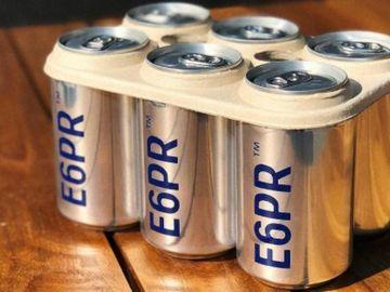 Las anillas biodegradables para latas de cerveza ya son una realidad en EEUU