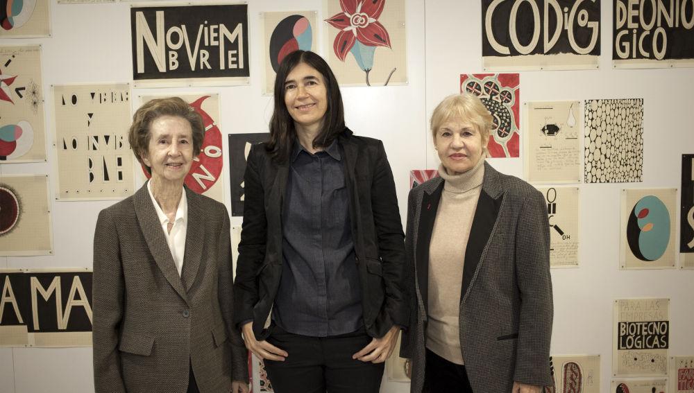 Margarita Salas, Maria A. Blasco y  Eva Lootz
