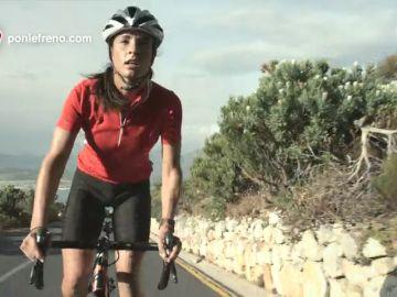 Ponle el casco cuando vayas en bici