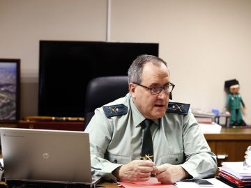 Ramón Rueda, jefe de la Guardia Civil de Tráfico