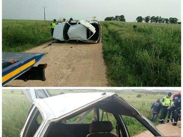 Un menor fallecido tras volcar el coche conducido por un chico de 15 años en Badajoz