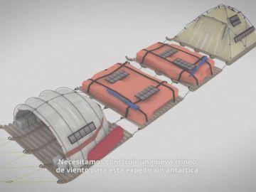 El explorador Ramón Larramendi pide financiación para construir un trineo del viento y embarcarse en la primera campaña antártica con cero emisiones