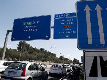 Accidentes de tráfico durante el fin de semana