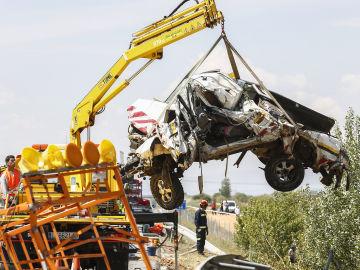 Accidente de trafico en Villadangos del Páramo