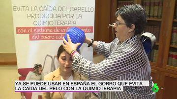 Un innovador sistema previene la caída del cabello para pacientes con cáncer durante la quimioterapia