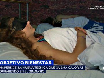 'Napercise' o dormir la siesta en el gimnasio, la nueva técnica para relajarse y quemar calorías