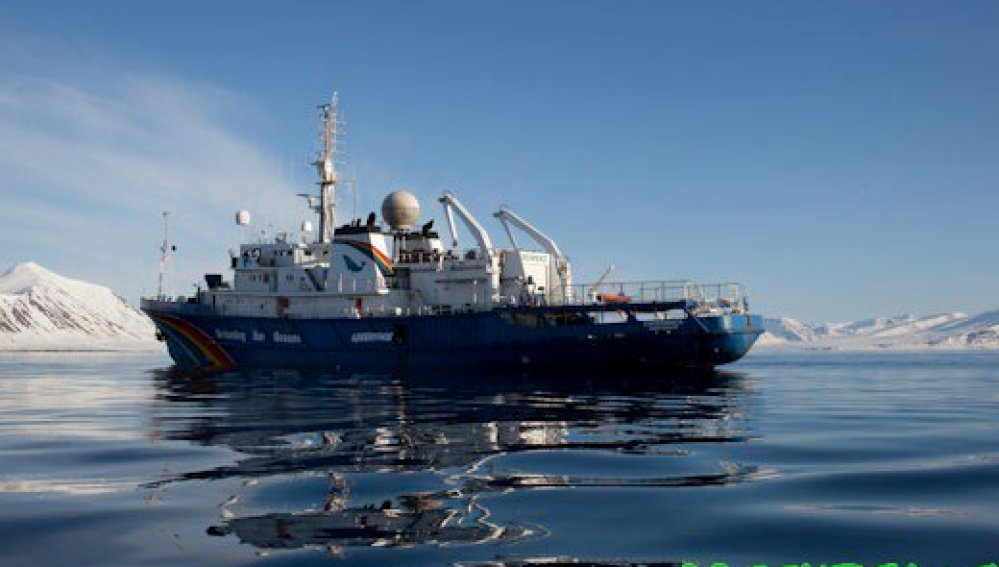 Buque en el Ártico