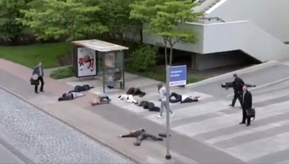 Campaña de Greenpeace en Suiza