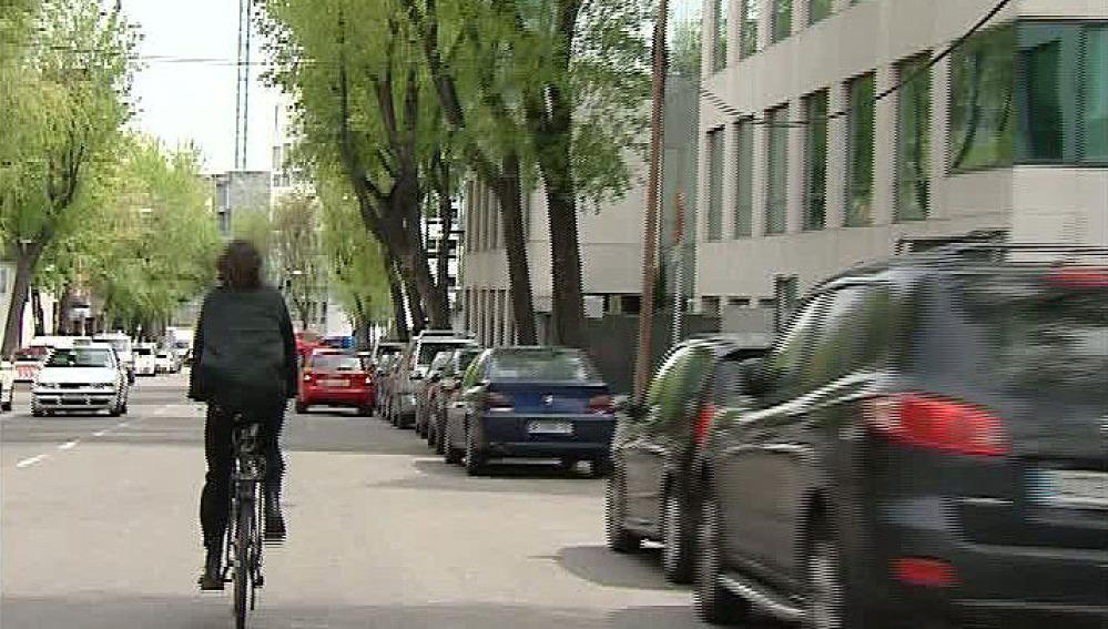 En bicicleta por Madrid