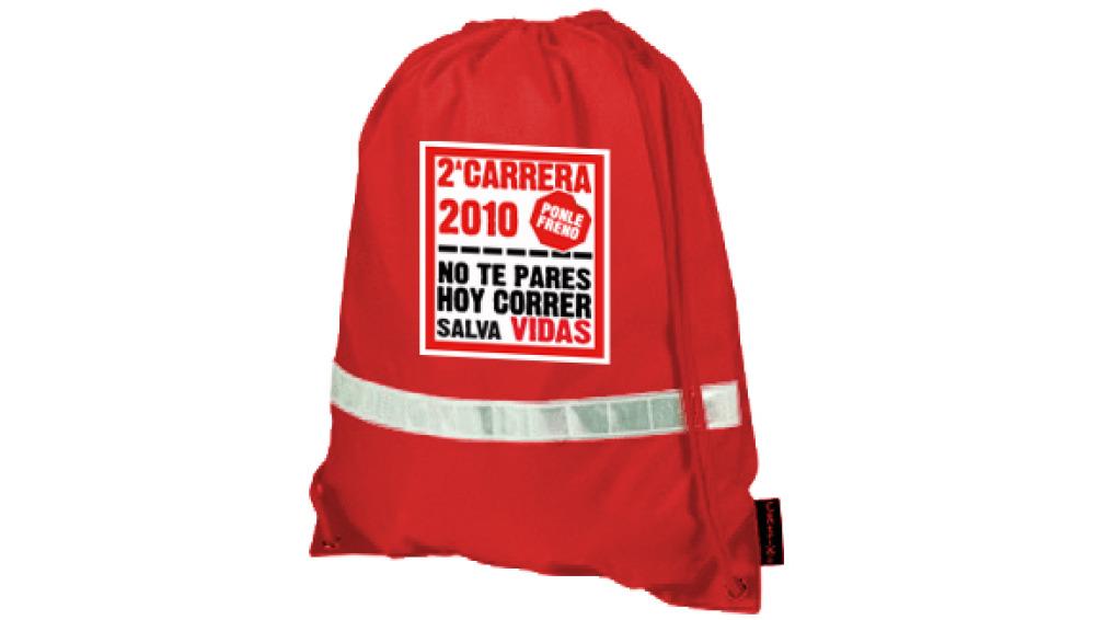 mochila oficial CARRERA PONLE FRENO