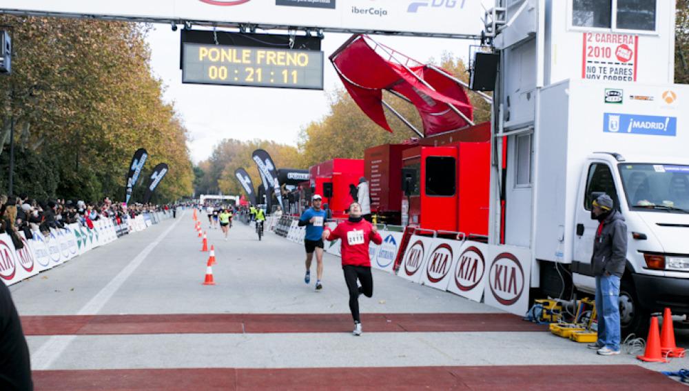 Minuto 21,11 Carrera Ponle Freno 2010 en Madrid