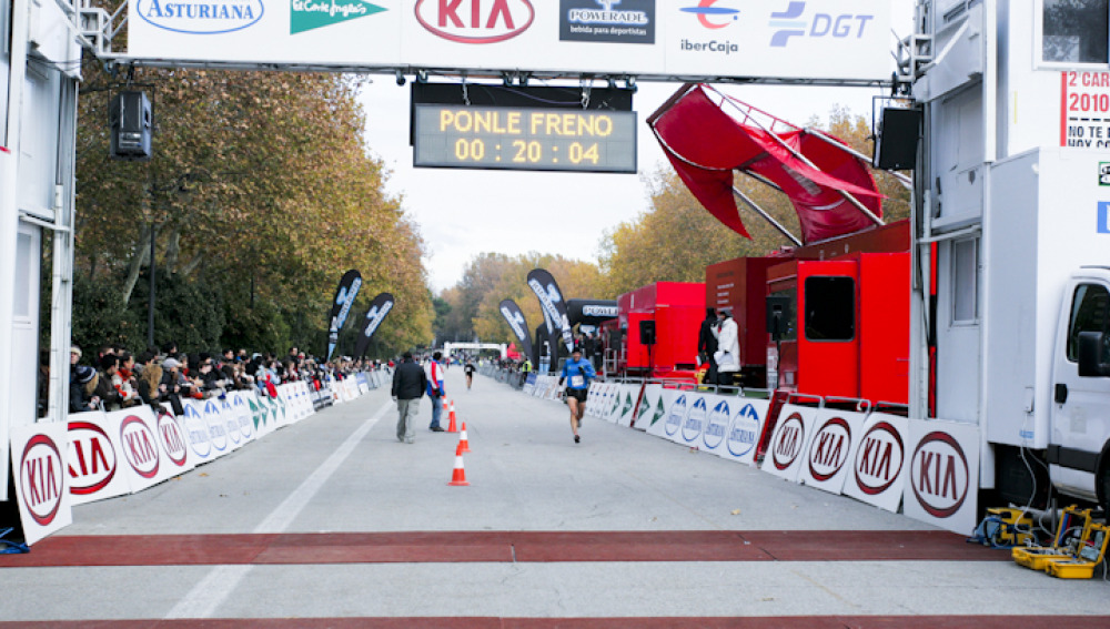 Minuto 20,04 Carrera Ponle Freno 2010 en Madrid