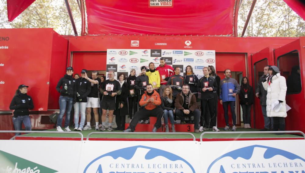 Entrega de premios de la Carrera Ponle Freno 2010 en Madrid