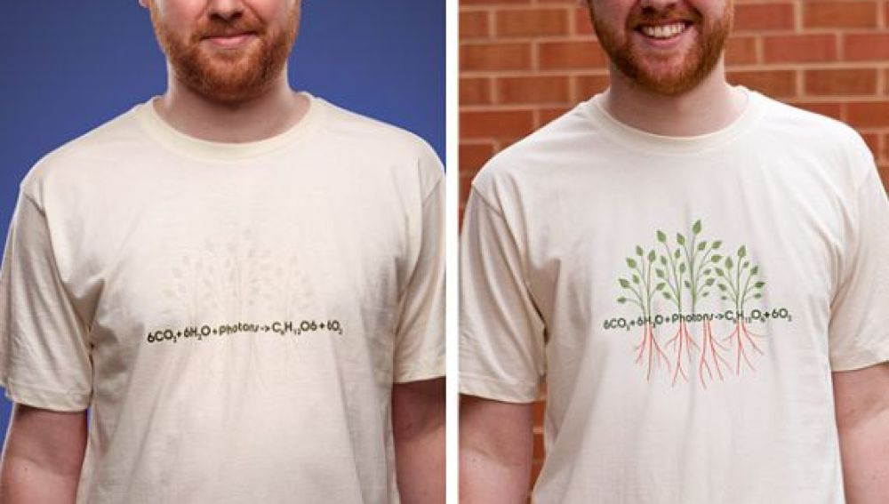Camisetas Fotosensibles