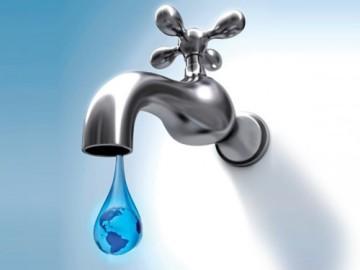 Grifo abierto y ahorro de agua