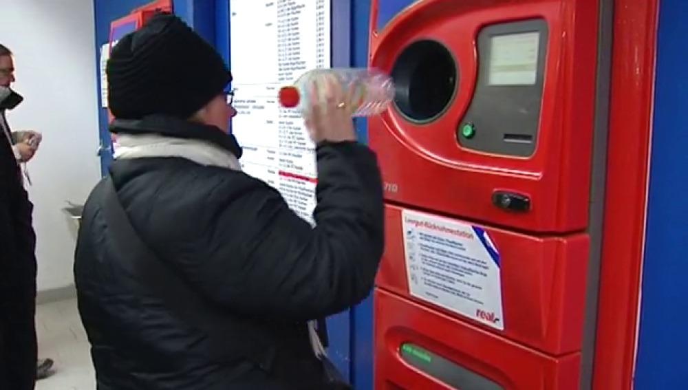 Máquinas de devolución de envases en Alemania