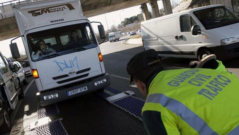 Control de camiones y furgonetas