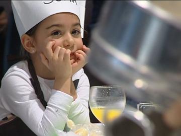 Curso de cocina de padres y niños