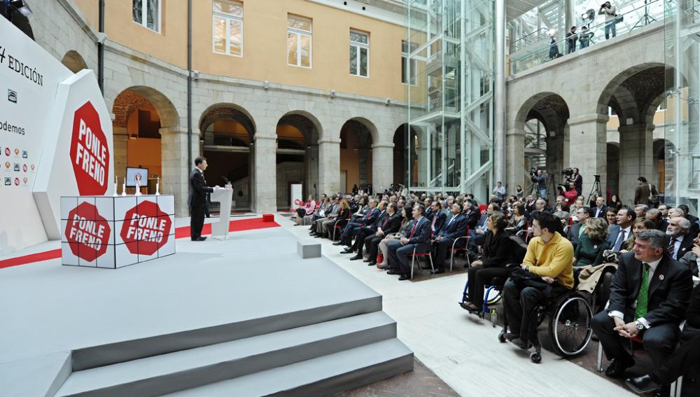 Aniversario y premios Ponle Freno en la Real Casa de Correos