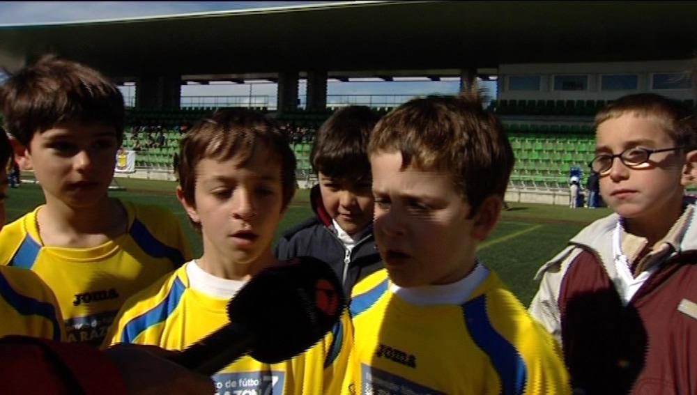 Fútbol contra la obesidad infantil
