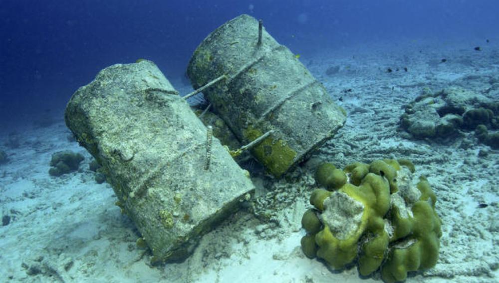 Basura submarina