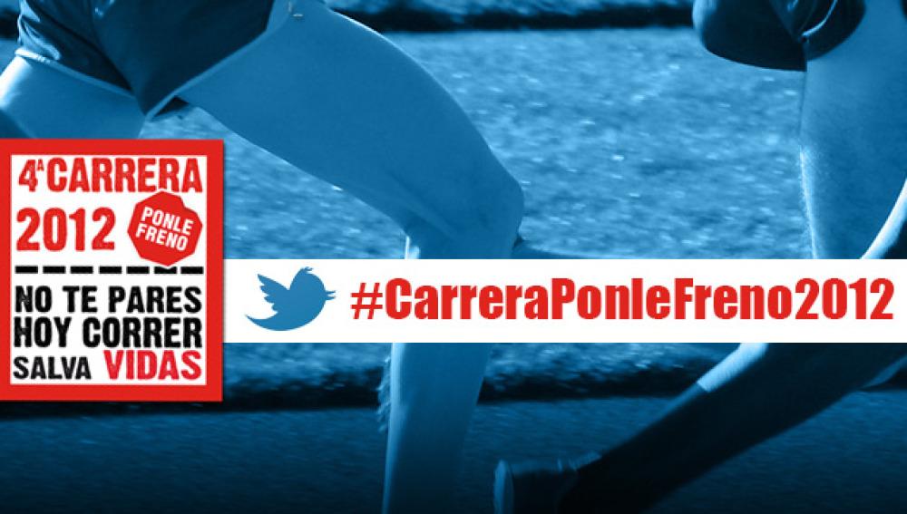 Hashtag #CarreraPonleFreno2012