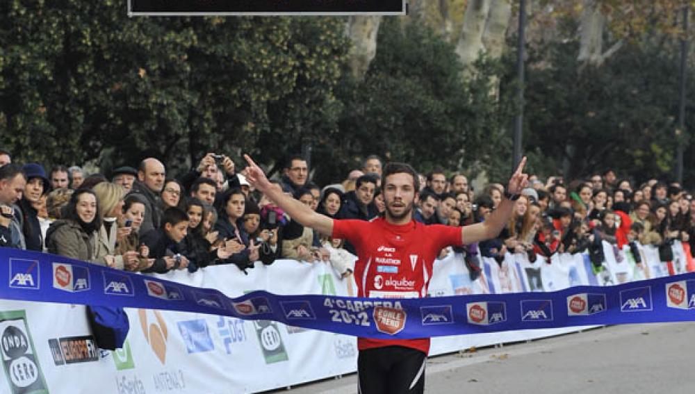 Ganador de los 5km de la  4ª Carrera Ponle Freno