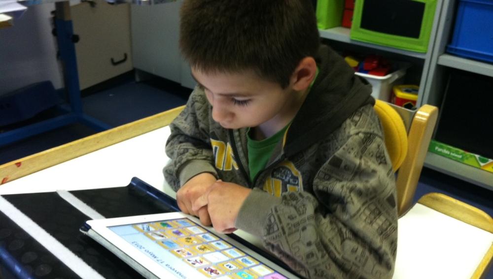 Tablets para niños con parálisis cerebral